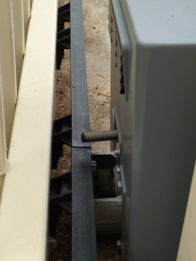 Close up of Gate Motor