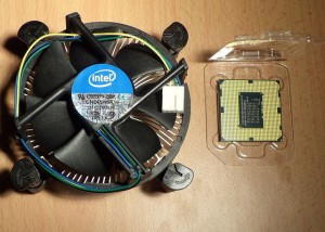 Intel G2030 Pentium and Stock Cooler
