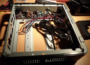Antec ISK 110 Mini-ITX Case Internals