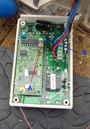 gliderol remote control instructions