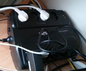 APC UPS ES700 In Use