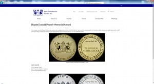 The Perth Numismatic Society Inc Website