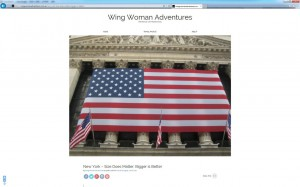 Wing Woman Adventures Website