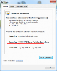 Success - SSL Certificate Installed