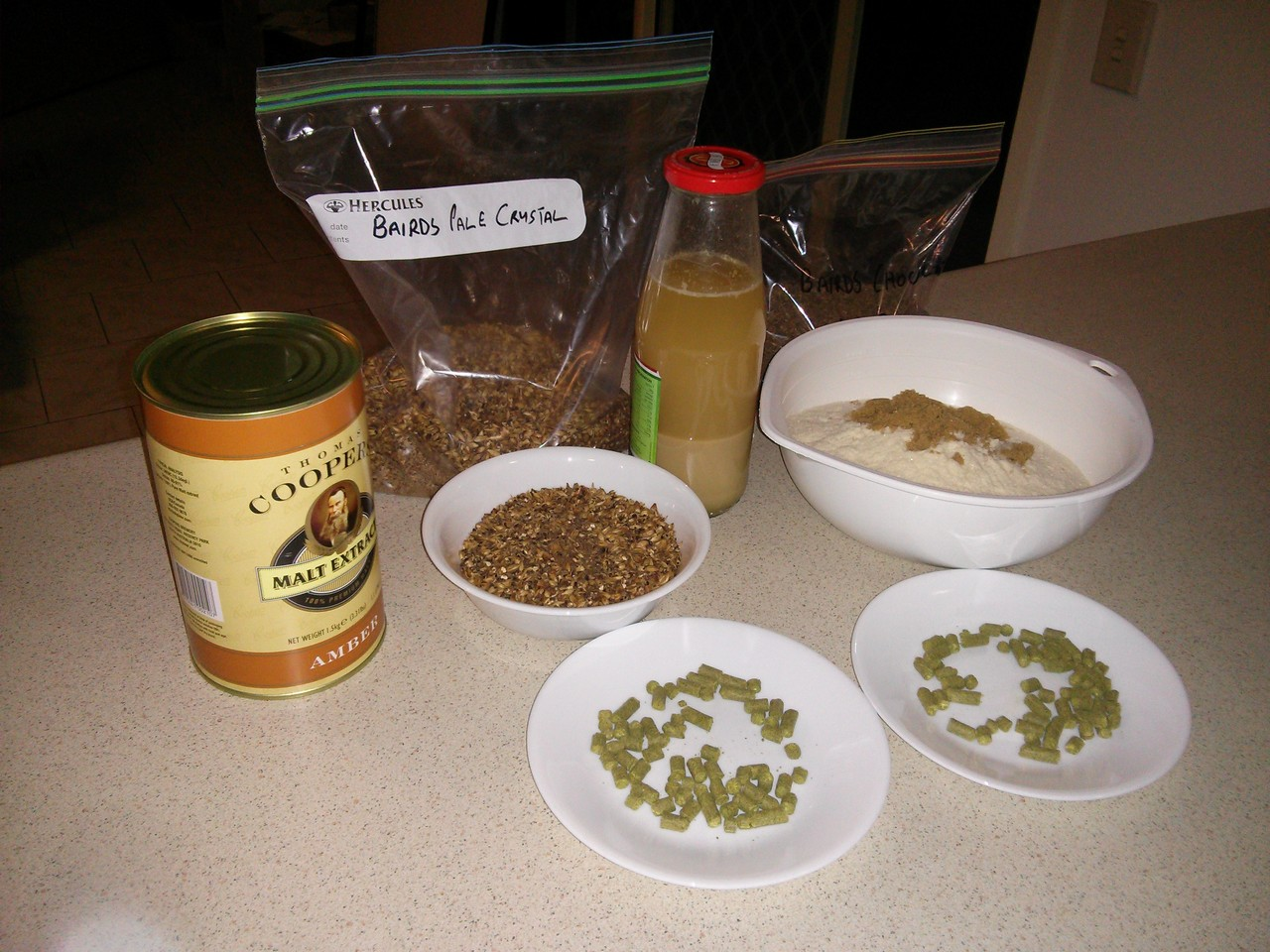 Brew Day 5 10 June 2015 - American Brown Ale - What Mark Did  Brew Day 5 10 J...
